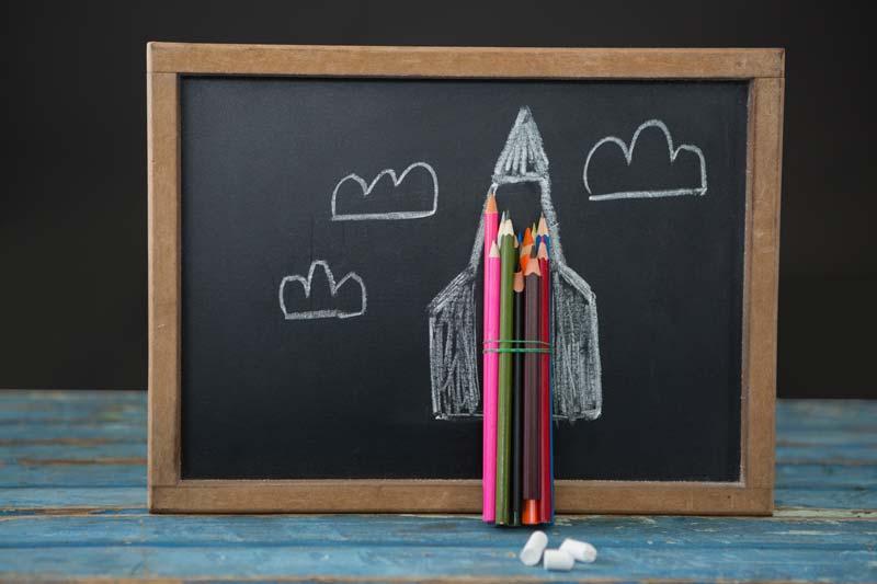 LifeBlueprint - Education - Rocket pencils