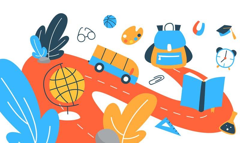 LifeBlueprint - Education - Schools illustration